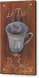 Evening Tea Acrylic Print by Callie Smith