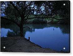 Evening Time At Kfar Blum Acrylic Print
