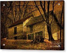 Evening Twilight Fades Away Acrylic Print by Lois Bryan