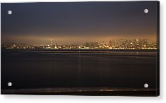 Evening View Acrylic Print by Akos Kozari