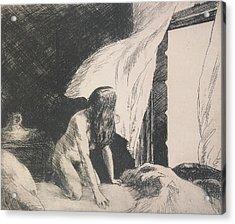 Evening Wind Acrylic Print by Edward Hopper