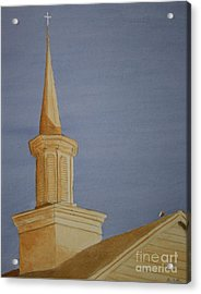 Acrylic Print featuring the painting Evening Worship by Stacy C Bottoms
