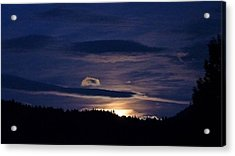 Acrylic Print featuring the photograph Event Rising by Julia Hassett
