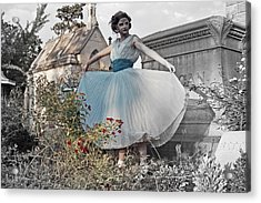 Ever Seen An Alice With A Blossom Like That Acrylic Print by Tracy  Tanner