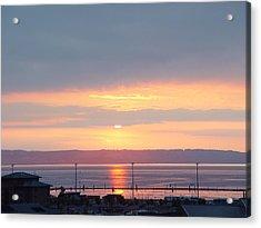 Everett Sunset01 Acrylic Print