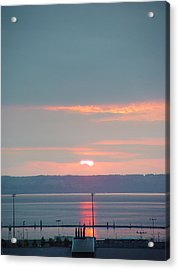 Everett Sunset02 Acrylic Print