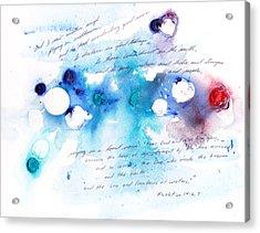 Everlasting Good News Acrylic Print by B L Qualls