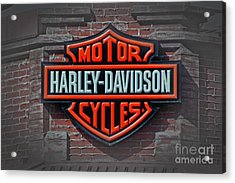 Every Bikers Love Acrylic Print by Arnie Goldstein