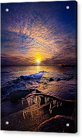 Every Day Is A Gift Not A Given Acrylic Print