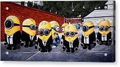 Every Minion Has His Day Acrylic Print by Al  Molina