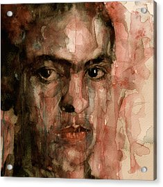 Everybody Hurts Acrylic Print by Paul Lovering