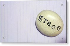 Everyday Grace Acrylic Print by Beth Burns