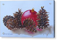 Everyone's Welcome At Christmas Acrylic Print by Carol Bruno