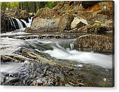 Everything Flows Acrylic Print