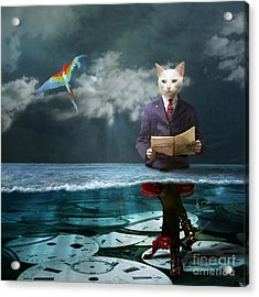 Everything Is A Matter Of Time Acrylic Print by Martine Roch