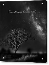 Everythings Connected Acrylic Print