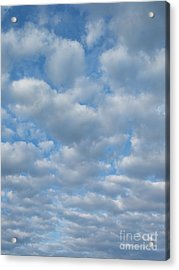 Everywhere - Clouds Acrylic Print by Margaret McDermott