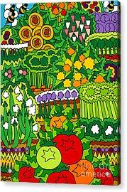 Eve's Garden Acrylic Print