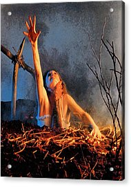 Evil Dead Acrylic Print