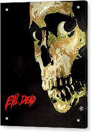 Evil Dead Skull Acrylic Print