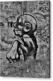 Evil Lerks  Acrylic Print