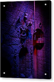 Evil Queen Dungeon Acrylic Print by Timothy Ramos