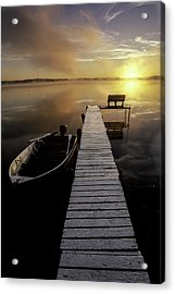 Evinrude And Lund Acrylic Print