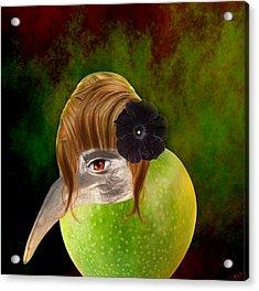 Evolve  Acrylic Print by Ally  White