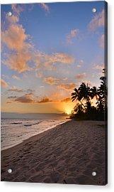 Ewa Beach Sunset 2 - Oahu Hawaii Acrylic Print by Brian Harig