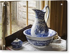 Ewer And Basin Acrylic Print by Michael DeFreitas