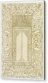 Example Of A Turkish Chimney Acrylic Print