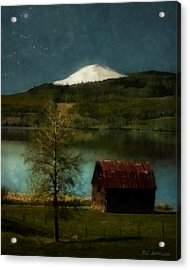 Excellence And Peace Acrylic Print by RC DeWinter