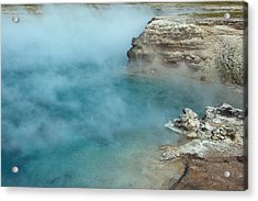 Excelsior Geyser Crater Acrylic Print
