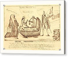 Excise Inquisition Erecting By English Slaves Acrylic Print
