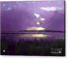 Exe Estuary Acrylic Print