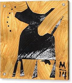 Execo No. 7  Acrylic Print by Mark M  Mellon