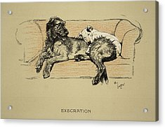 Execration, 1930, 1st Edition Acrylic Print