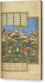 Execution Of Surkha Acrylic Print by British Library