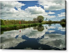 Exeter Canal Acrylic Print