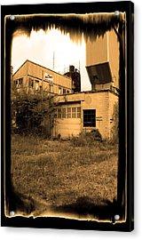 Exeter Concrete I I - Abandoned Acrylic Print