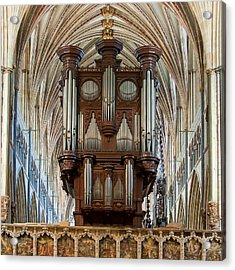 Exeter's King Of Instruments Acrylic Print