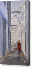 Exhibition Hallway Late Afternoon Acrylic Print