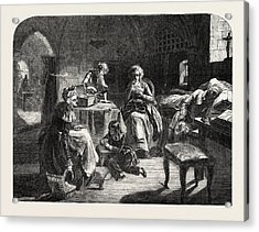Exhibition Of The Royal Academy, The Royal Family Of France Acrylic Print