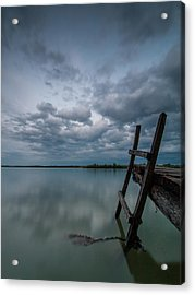 Exit Acrylic Print by Davorin Mance