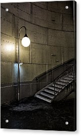 Exit From The Paris Metro 02 Acrylic Print by Russ Dixon