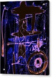 Exo Blue 8293 Acrylic Print