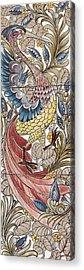 Exotic Bird Acrylic Print by William Morris