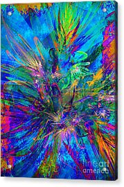 Exotic Dream Flower Acrylic Print by Klara Acel