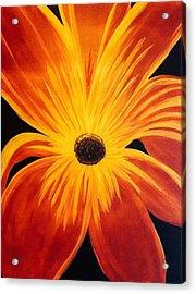 Exotic Flower Acrylic Print