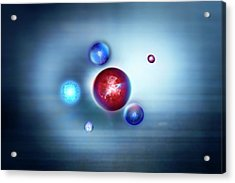 Exotic Particles Acrylic Print by Richard Kail
